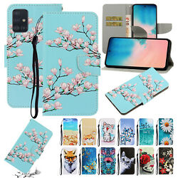 For Samsung Galaxy A01 A11 A21 A41 A51 A71 4G Pattern Leather Wallet Case Cover $8.54