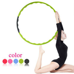Gym Fitness Hula Hoop Detachable Home Exercise Lose Weight Workout Adult Hoola $14.80