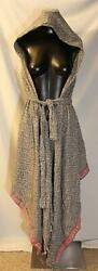Order Plus Women#x27;s Hooded Pullover Fringed Hem Shawl BF5 Multi Color 2XL NWT $16.14