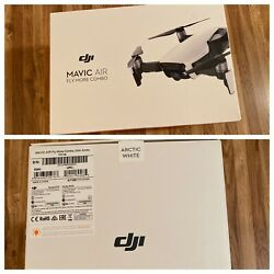 DJI MAVIC AIR FLY MORE COMBO (ARTIC WHITE) USED-MINT WITH EXTRA BATTERIES $629.99