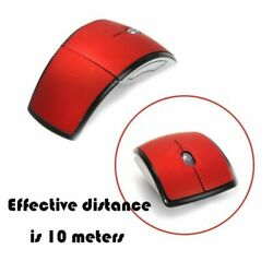 2.4G Wireless Foldable Mouse Mini-Travel Notebook Mute Mouse Laptop USB Receiver $8.99