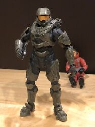 Mcfarlane Halo 3 Reach Video Game Action Figure Spartan Master Chief 117 With BR $4.00