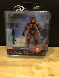 Mcfarlane Halo 3 Reach Video Game Action Figure Red Spartan CQB Shotgun NIB $6.00
