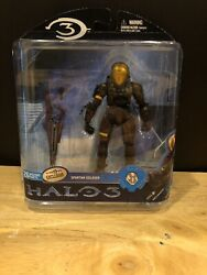 Mcfarlane Halo 3 Reach Video Game Action Figure Brown Spartan EVA Sniper NIB $3.75