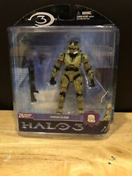 Mcfarlane Halo 3 Reach Video Game Action Figure Green Spartan EOD Shotgun NIB $7.50
