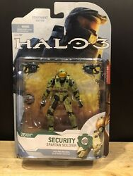 Mcfarlane Halo 3 Reach Video Game Action Figure Green Spartan Security NIB $13.50