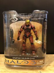 Mcfarlane Halo 3 Reach Video Game Action Figure Red Spartan EVA With AR NIB $6.50