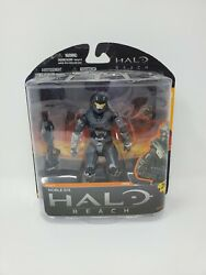 Halo Reach Series 1 UNSC Noble Six McFarlane Action Figure Brand New Sealed $69.94