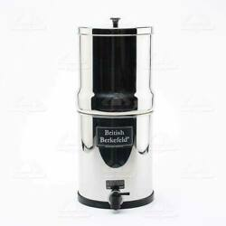 Big Berkey Water Filter w 2 Black Berkey Purifiers - NON-EMBOSSED - NEW $278.00