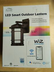 ALTAIR LED SMART OUTDOOR LANTERN WIZ CONNECTED WIFI $119.95