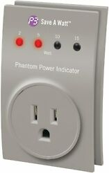 P3 International P4190 Save a Watt Phantom Power Indicator $10.90