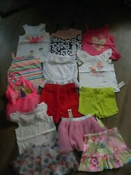 Summer Girls 24 Months Awesome Mixed Lot of Shorts Swimsuits Tops amp; More NWT $52.99
