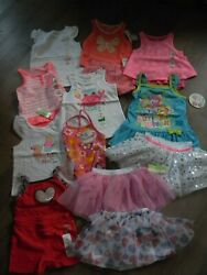 Summer Girls 24 Months Radiant Mixed Lot of Shorts Swimsuits Tops amp; More NWT $59.99