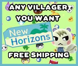 ANIMAL CROSSING NEW HORIZONS AMIIBO NFC CARD - ANY VILLAGER YOU WANT  FREE SHIP $2.95
