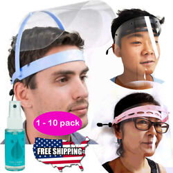 SAFETY FULL FACE SHIELD FLIP UP Clear Visor Transparent Medical Dental Mask $9.99