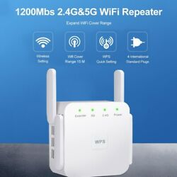300/1200Mbps WiFi Range Extender WiFi Repeater Wireless Internet Signal Booster $21.99