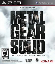 Metal Gear Solid Legacy Collection - Playstation 3 $27.95