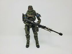 Halo Reach Square Enix Play Arts Kai Jun Loose Action Figure $74.94