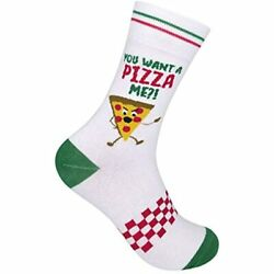You Want A Pizza Me Novelty Socks Men Women Funny For Gifts Funky Mens Silly $21.98