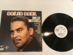 SOLID SOUL BY WILLIE MITCHELL LP 1968 WITH ORIGINAL SLEEVE $14.99
