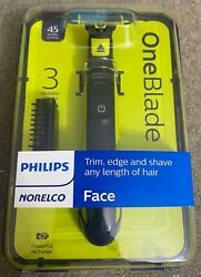 Philips Norelco OneBlade FACE Electric Trimmer Shaver QP252070 $22.00