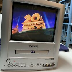 Toshiba MD9DM3 9quot; Analog CRT TV DVD Player Combo Retro Gaming WORKS $151.95