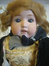 Heubach Koppelsdorf Bisque Kittie Doll #275 Germany Antique with Box $100.00