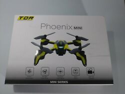Tenergy TDR Phoenix Mini 2.4G RC Quadcopter Drone With 2MP 720P HD Camera $28.00