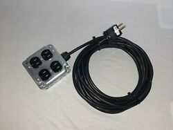 Quad Stage Power Box With 15#x27; Cable $37.49