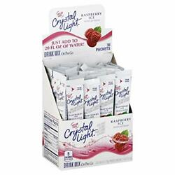 Crystal Light Raspberry Ice Drink Mix 30 On the Go Packets $18.99