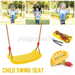 Kids Swing Seat Set Children Backyard Outdoor Tree Playground Heavy Duty Rope US $24.69
