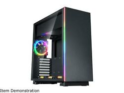 Rosewill ATX Mid Tower Gaming PC Computer Case Aura Sync Compatible Dual Ring R $84.99