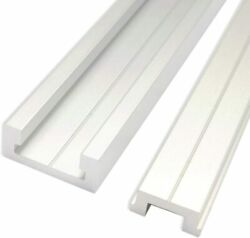 POWERTEC Aluminum Miter T Track with Miter T Bar 48 Inch 71156 $32.99