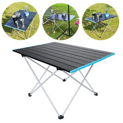 Portable Folding Table Aluminum Indoor Outdoor BBQ Picnic Party Camping Desk $28.98