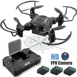 4DRC V2 Mini Drone With 720P HD Wifi FPV Camera Foldable RC Quadcopter for kids $36.80