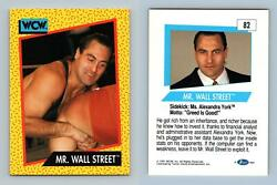 Mr. Wall Street #82 WCW 1991 Impel Wrestling Trading Card GBP 0.99