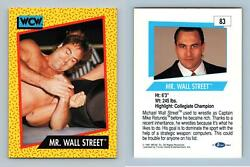 Mr. Wall Street #83 WCW 1991 Impel Wrestling Trading Card GBP 0.99