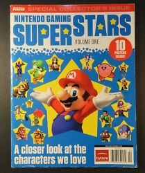 2011 Nintendo Power Gaming Super Star Magazine #1 Collectors Issue No Posters $34.95