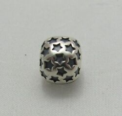 NEW AUTHENTIC Pandora ALE Sterling Silver Jewelry Star Clip Charm 790851 $34.95