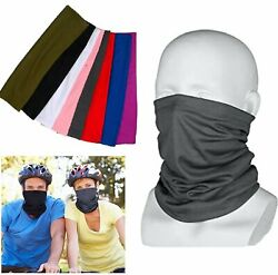 Face bike Mask Sun Shield Neck Gaiter Balaclava Neckerchief Bandana Headband $5.95