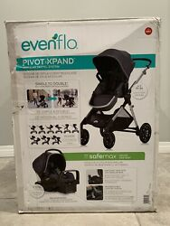 Evenflo Pivot Xpand Travel System includes SafeMax Infant Car Seat New $319.99