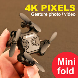 Mini 4DRCV2 Drone Selfie WIFI FPV With HD Camera RC Quadcopter Toy Gift US $32.11