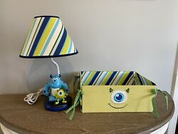 Disney Monster's Inc 17quot; Nursery Lamp With Shade Mike amp; Sully $45.00