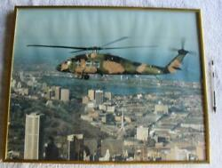 Helicopter Sikorsky S 70 Helicopter A25 102 Australian ARMY Large Framed Photo. AU $88.88