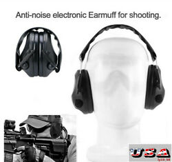 Folding Protection Electronic Ear Ear Muffs Shooting Hunting Sport Anti Noise US $26.59
