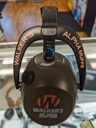 Walkers Alpha Muffs 360 Hunting Shooting Electronic Ear Muffs $35.00