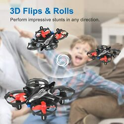 U`King Mini Drone RC Quadcopter Helicopter Kids Toy 4 Batteries 360° Flip amp; Roll $31.34