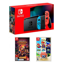 Nintendo Switch 32GB Console Minecraft Dungeons Super Mario 3D All Stars $389.99
