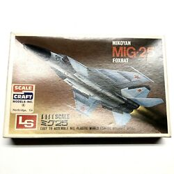 LS 1 144 SCALE CRAFT LS MIKOYAN MIG 25 FOXBAT Model Airplane Vintage Aircraft $34.50