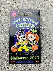 Disney Parks Halloween 2020 Trick Or Treat Cuties Pin Max amp; Roxanne Goofy Movie $24.95